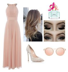 """""""•Dinner•"""" by romadee ❤ liked on Polyvore featuring Eliza J, Marc Jacobs and Casadei"""