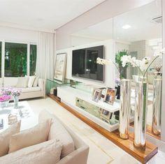 Sala de TV por Humberto e Analice Zirpoli #living #homedecor #apartamentodecorado #decoração #interiordesign