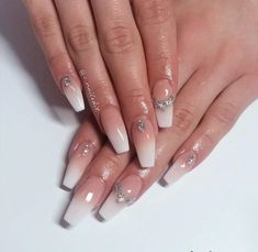 Fabulous One #Stone Nails #summernails2018 #summernails