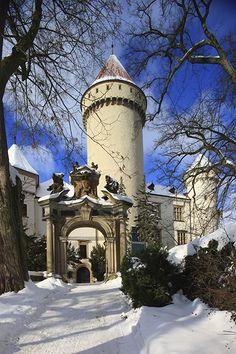 Konopiště, kalendář Naše hrady a zámky 2017