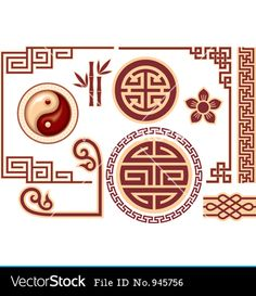 mandarin period design images | Chinese Oriental Design