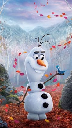 Disney Olaf, Art Disney, Frozen 2 Wallpaper, Disney Phone Wallpaper, Wallpaper Iphone Cute, Wallpaper For Samsung Galaxy, Trendy Wallpaper, Wallpaper Marvel, Image Princesse Disney