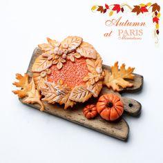 Paris Miniatures: Halloween / Autumn Miniatures - Pumpkin Pie