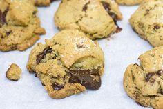 vegan chocolate chip cookies (with secret ingredients!) by a sweet road, via Flickr