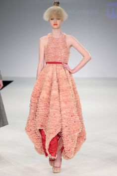 Istituto Marangoni graduate fashion collection