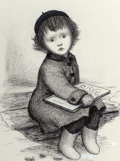 dibujo de Garth Williams (1912-1996)