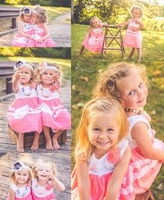 Necklaces Photography twin girls 2 two years old outdoor summer photos pink sprispals headbands beaded necklaces Abby Jayne Photography - Twin Pictures, Toddler Pictures, Sister Pictures, Twin Photos, Twin Toddler Photography, Sibling Photography, Children Photography, Toddler Poses, Toddler Twins