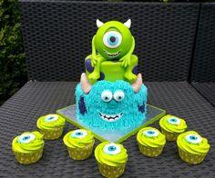 monster inc cake - Google Search