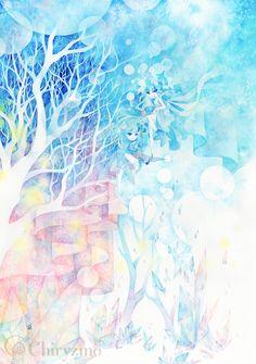 果ての森の、その裏に by ヒヅキカヲル | CREATORS BANK http://creatorsbank.com/hi2ki_A/works/277158