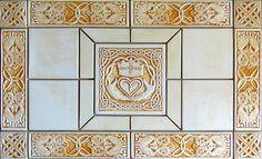 Decorative Celtic tile set