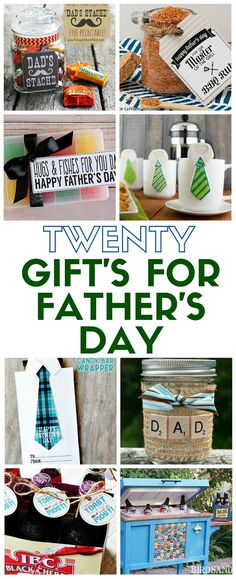 Need a gift idea for the man in your life? You are sure to find the perfect handmade gift for Father's Day in this collection of 20 DIY ideas. Valentine Gifts For Husband, Diy Gifts For Boyfriend, Happy Fathers Day, Gifts For Father, Diy Father's Day Crafts, Father's Day Diy, Fathers Day Crafts, Creative Crafts, Diy Gifts For Men