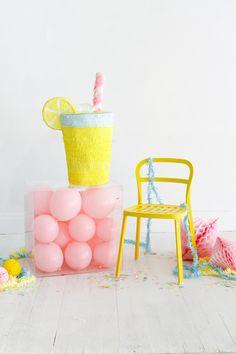 Lemonade Pinata   Oh