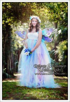 Soft pastels tutu dress made by dragonslairfairyshop on Esty photos taken by Rebecca Colman