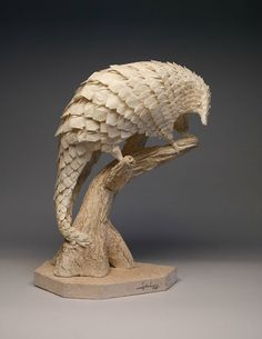 Pangolin by Eric Joisel-Origami