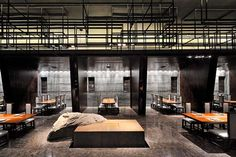 Japan Interior Design Ideas | LET'S STAY: Haneda Japanese Restaurant by Kris Lin Interior Design