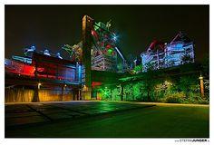 Piazza metallica, Germany, Duisburg-Nord, Peter Latz