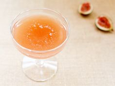 Cocktail Fridays: Raised in a Red Barn with bourbon, sweet vermouth, lemon juice, and fresh figs | Photo: Nole Garey for Oh So Beautiful Paper