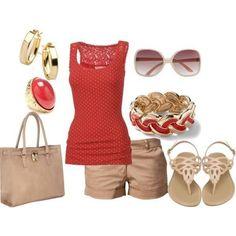 Fashion: super cute summer outfit