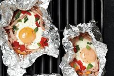 Barbecue Breakfast Packets