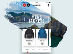 Patagonia Collection 2.0 by Tony DeAngelo #Design Popular #Dribbble #shots