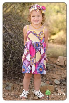 """cora"" brynlee style dress by Sew Chill"