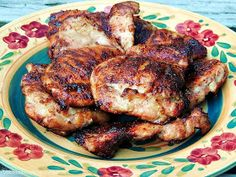 Bobbi's Kozy Kitchen: Sweet and Spicy Grilled Chicken Thighs
