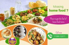 Home style food Sometimes, in your home you will never know the value of mother's #food preparation. But, when you are staying away from home…. You will definitely miss your mom's food. Don't worry dudes…! #Raja'sMapillaivirundhu is the place to get the tasty food items which gives you the home feel. Available on every weekdays & weekends Call Now- 77089 12071