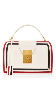 Mrs. Thom Pocketbook With Cricket Seam - Thom Browne Resort 2016 - Preorder now on Moda Operandi