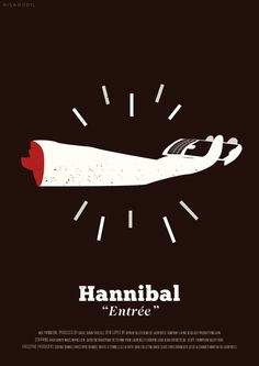 Hannibal Episode Posters by Risa Rodil, via Behance