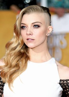 Marvelous Her Hair Half Shaved Hairstyles And Hairstyles On Pinterest Short Hairstyles Gunalazisus