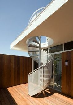 Best Spiral Staircase To The Roof Pc House By Xva 400 x 300
