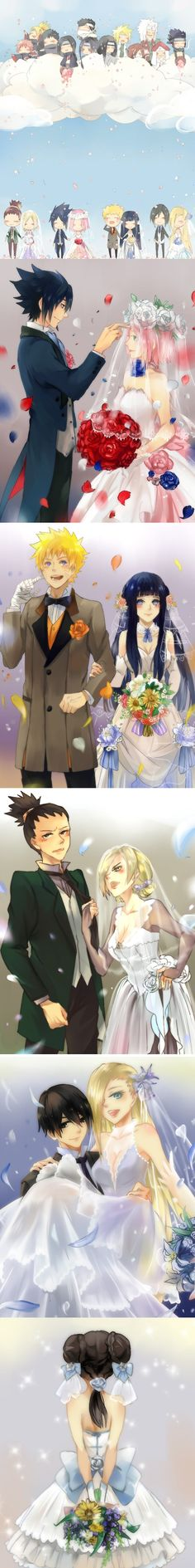 Naruto marriages