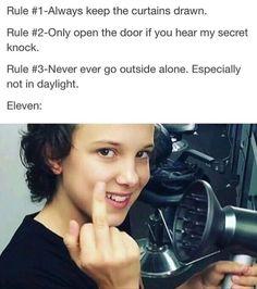 Eleven is one true Rebel.