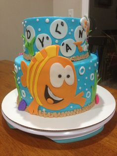 Bubble Guppies Cake!! Daisy Cakes is awesome