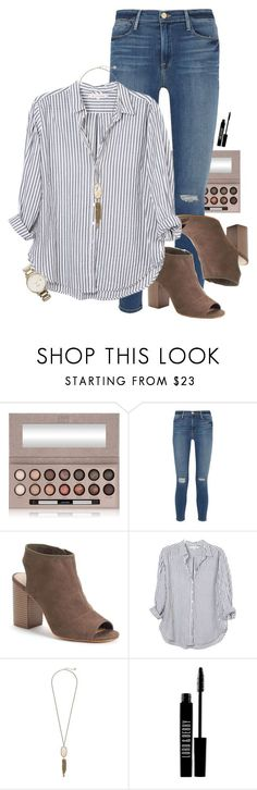 """~boss lady~"" by simplysarahkate ❤ liked on Polyvore featuring Laura Geller, Frame, Apt. 9, Xirena, Kendra Scott, Lord & Berry and Kate Spade"