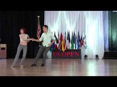 2015 Rising Star Champions - Jesse Lopez & Hailee Lopez - US Open - YouTube