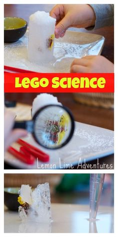 Lego Science: An Ice Excavation
