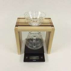Coffee Pour-over, Dripper wood stand- Hario- Kalita