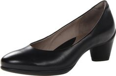 online shopping for ECCO Women's Sculptured 45 Plain Dress Pump from top store. See new offer for ECCO Women's Sculptured 45 Plain Dress Pump Plain Dress, Bike Shoes, Purple Shoes, Black Ballet Flats, Court Shoes, Black Pumps, Character Shoes, Fashion Shoes, Dance Shoes