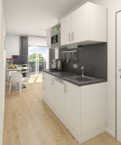 Details zu respekta Single Büroküche Pantry Küche Miniküche ...   {Pantryküche design 7}