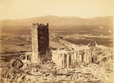 Acropolis-1854_b-700x513 Attica Athens, Athens Greece, Greece Pictures, Parthenon, Ancient Greece, Historical Photos, Fantasy Rpg, Old Photos, Monument Valley