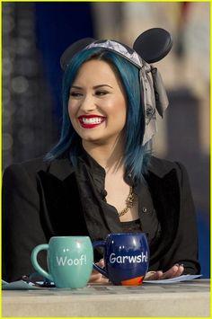 Demi Lovato: Happy Birthday, Mickey Mouse! | demi lovato bday mickey mouse 02 - Photo