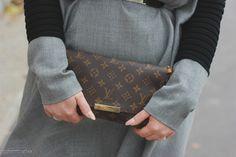 Louis Vuitton little bag monogram canvas