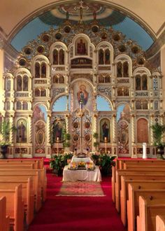 """Byzantine Catholic Cultural Center Tremont, OH  Built in 1909 as a """"Greek Catholic Church""""  Previously known as Holy Ghost Byzantine Catholic Church"""