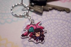 Hey, I found this really awesome Etsy listing at https://www.etsy.com/dk-en/listing/466585580/overwatch-keychain-hanzo-lucio-genji-dva