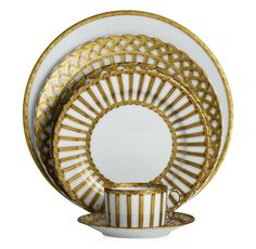 Vannerie Dinner Set by Alberto Pinto (Available at Michael C. Fina)