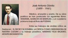 Jose Antonio Davila 1899 - 1941