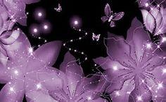 Wallpapers Flowers, Purple Flowers Wallpaper, Flower Phone Wallpaper, Butterfly Wallpaper, Flower Backgrounds, Cellphone Wallpaper, The Purple, All Things Purple, Purple Butterfly