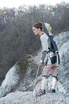 Mittelalter Bogeschütze Tasche