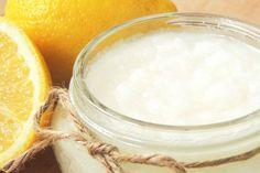 DIY lemon body scrub on innrtribe.com